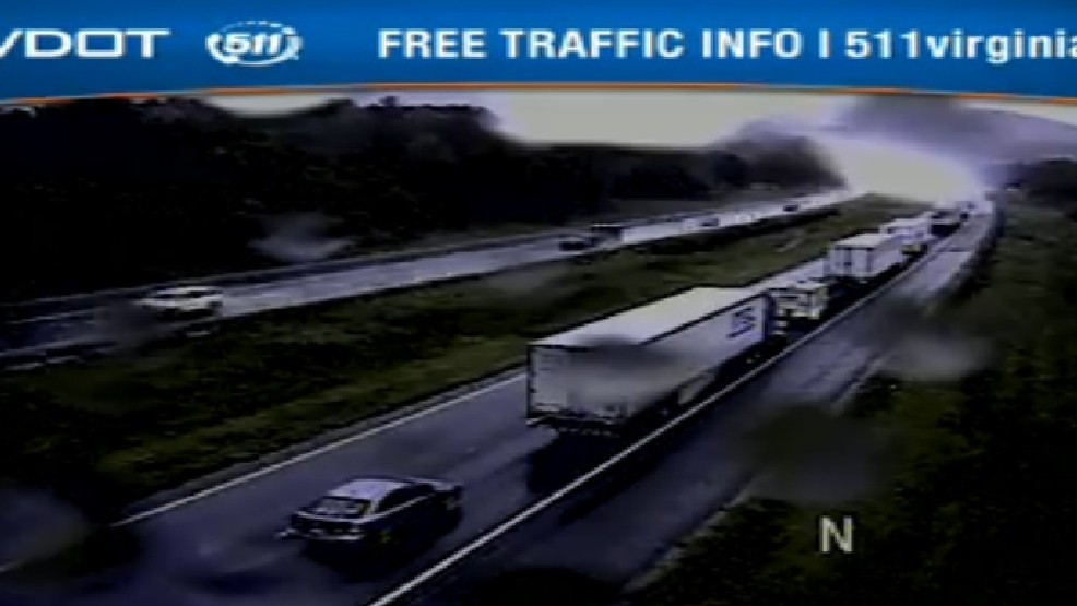 UPDATE: Accident on I-81 in Botetourt Co  Cleared | WSET
