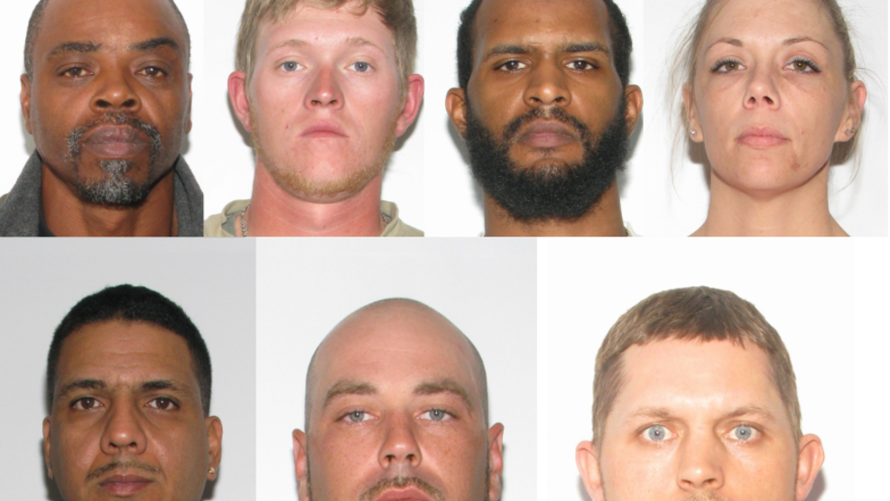 Police: 10 arrested on more than 30 drug and firearm charges