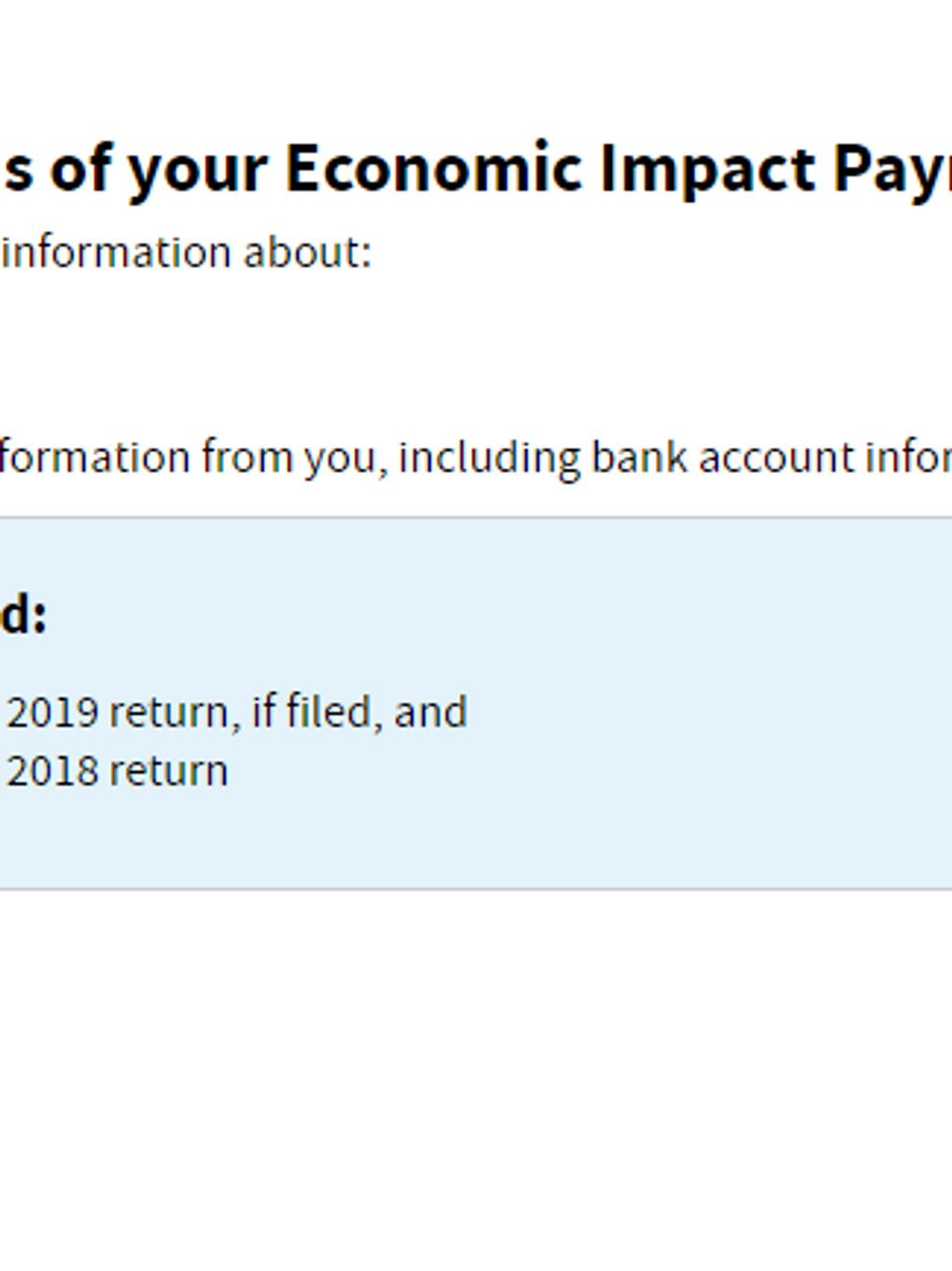 Get My Payment Tool Live On Irs Website Allows You To Track