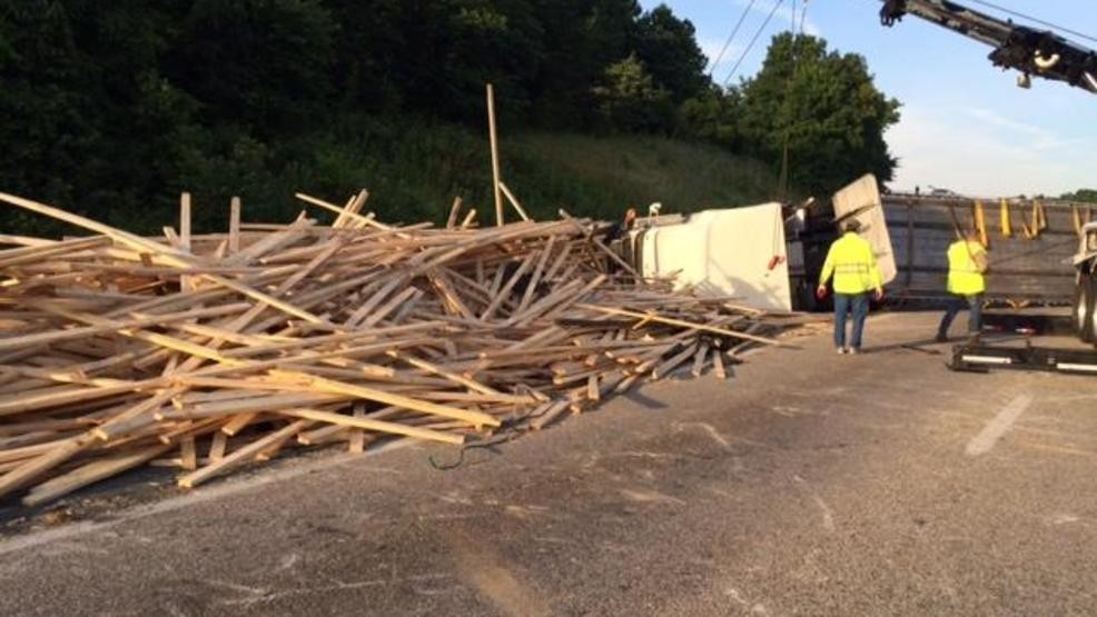 I-81 open to traffic after lumber truck crash | WSET