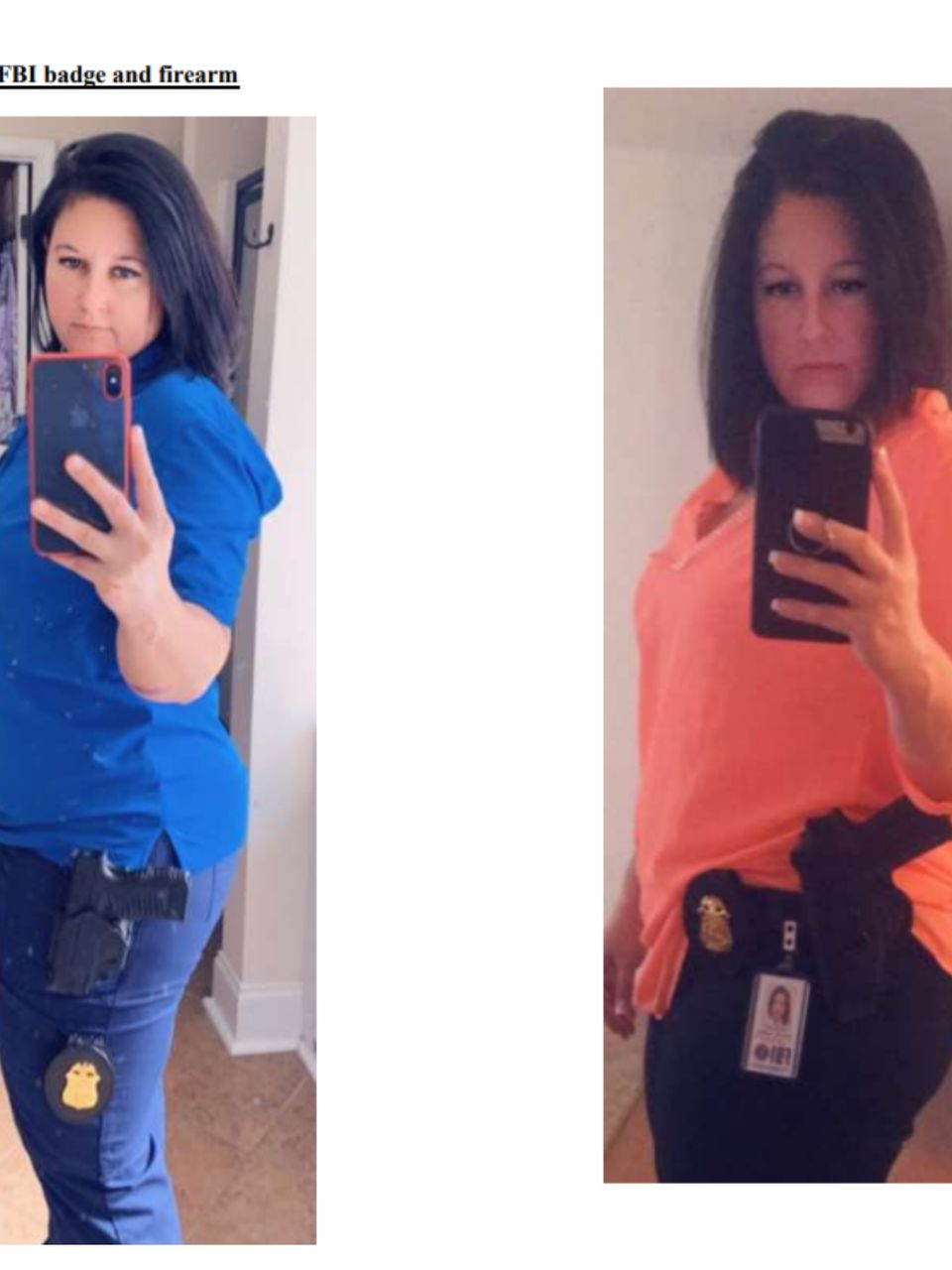 Agent Fake woman gets 3 years for posing as fbi agent on dating