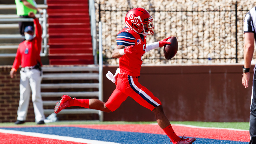 Malik Willis breaks records in 56-35 Liberty win, Flames move to 6-0 | WSET