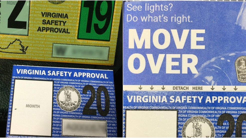 State Police redesigns inspection stickers | WSET