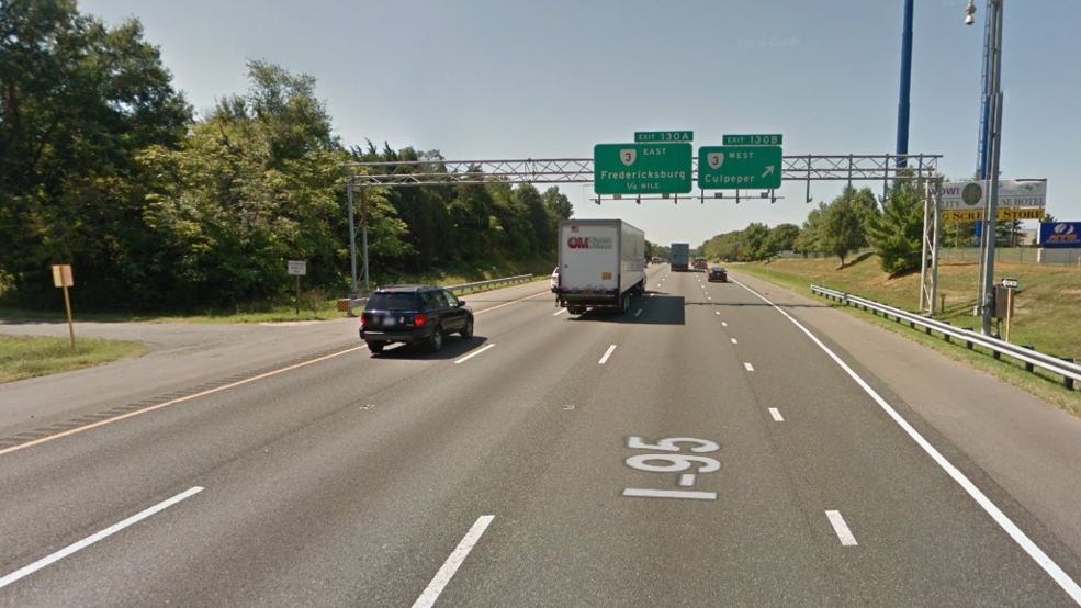 Worst Traffic Spot In Us Found On I 95 In Northern Virginia Wset