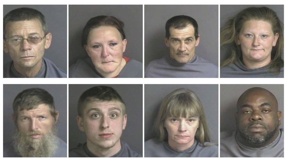26 arrested on 45 drugs charges in recent Franklin Co  'round up' | WSET