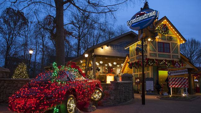 Busch Gardens' Christmas Town, with 10