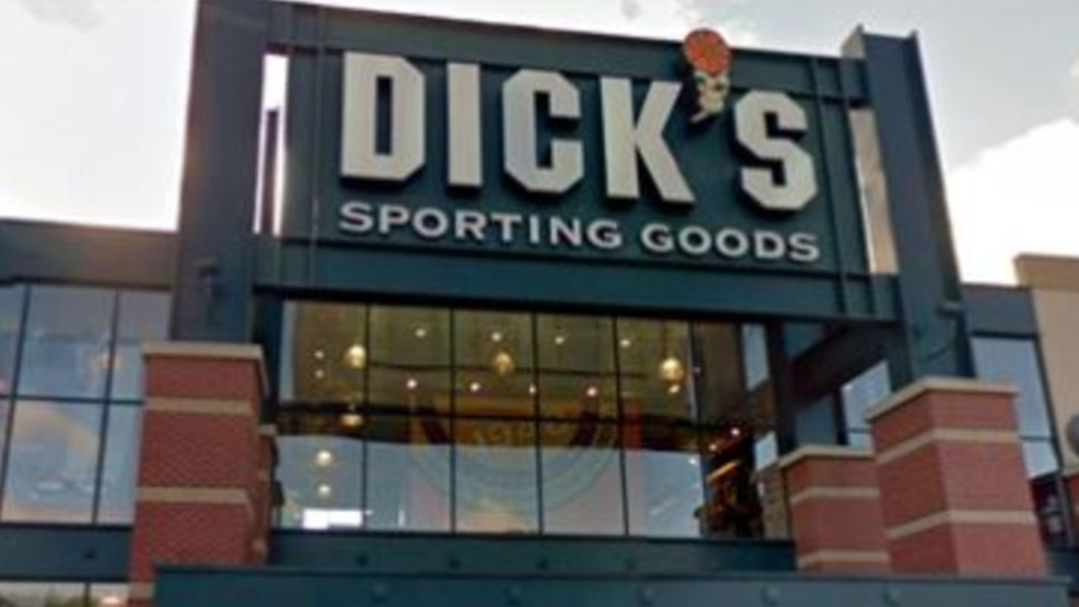 You tell dicks sporting goods company you