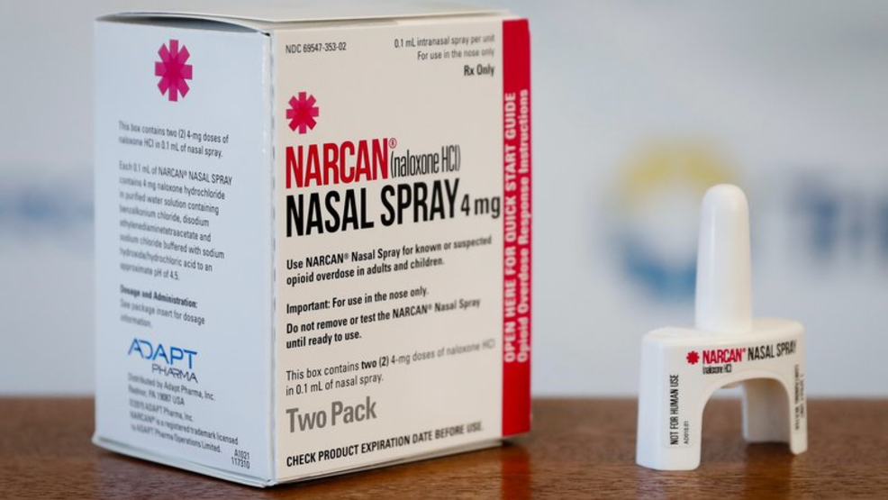 Botetourt Deputies Equipped With Narcan Nasal Spray For Opioid