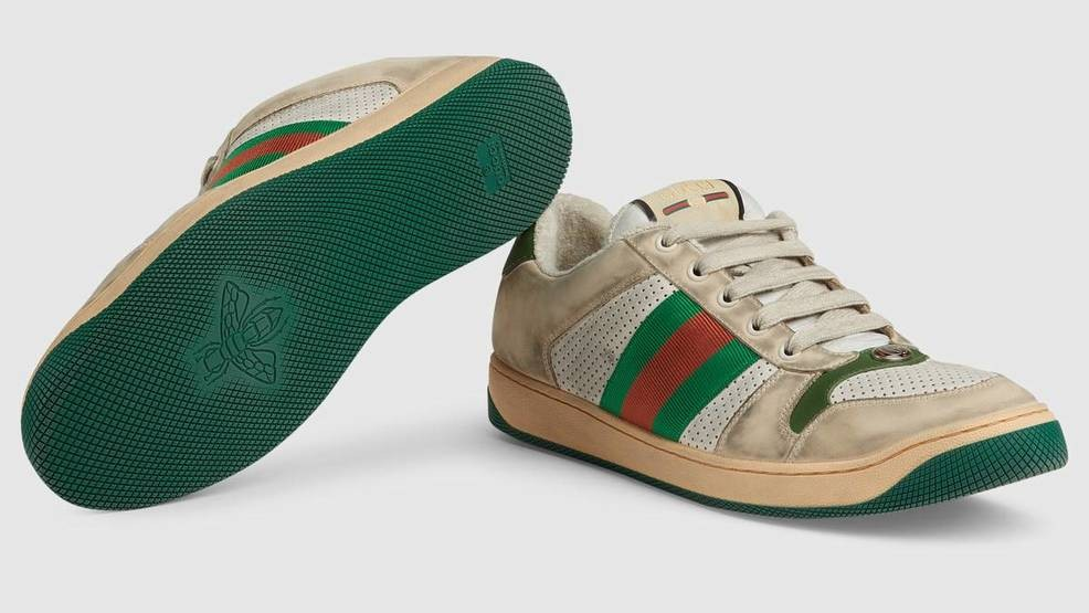 823a9546238 Gucci selling new sneakers that will look dirty right out of the box ...