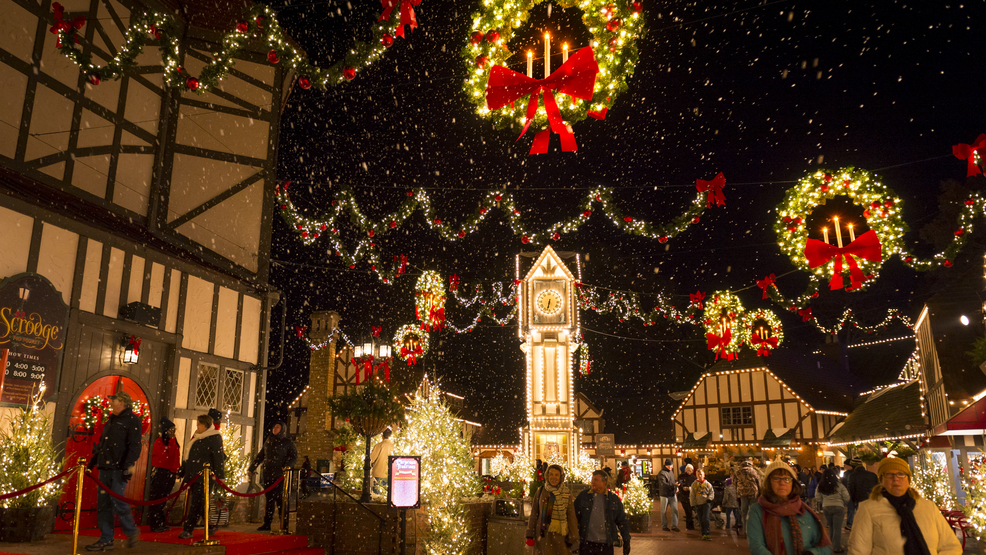 Christmas Town.Busch Gardens Christmas Town With 10 Million Lights Adds