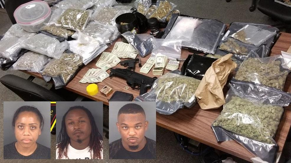 3 arrested after drugs, weapons found at N C  daycare during