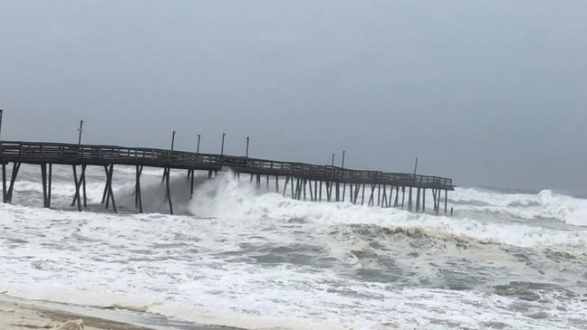 Outer Banks' piers heavily damaged in hurricane | WSET