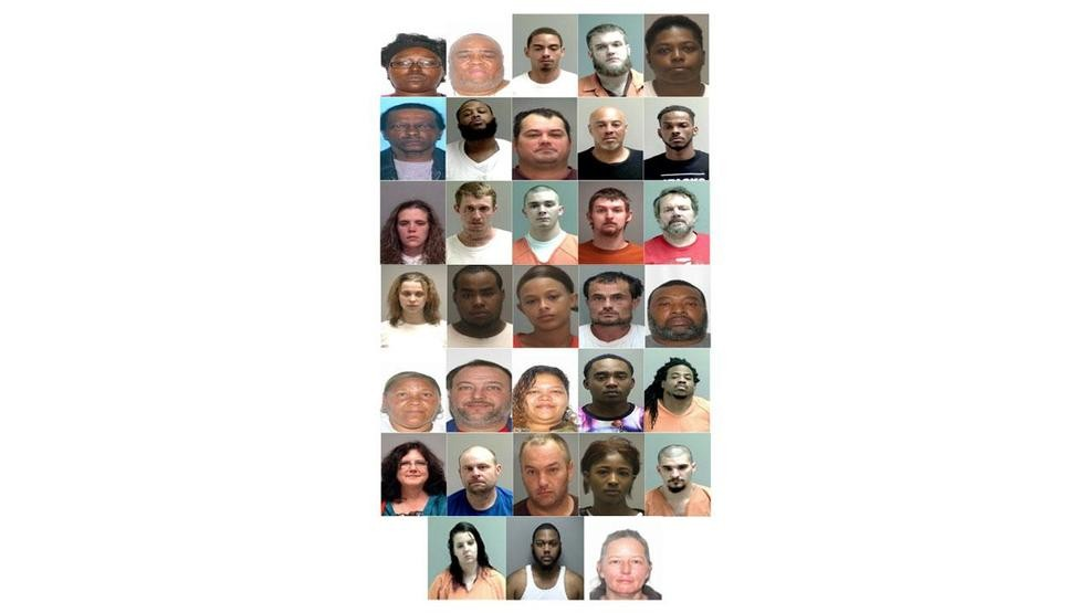 Police: 235 drug indictments handed down in Martinsville, 33