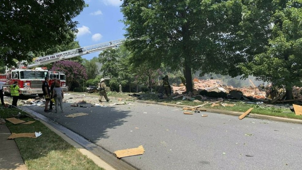Woman found dead in North Carolina home after explosion | WSET