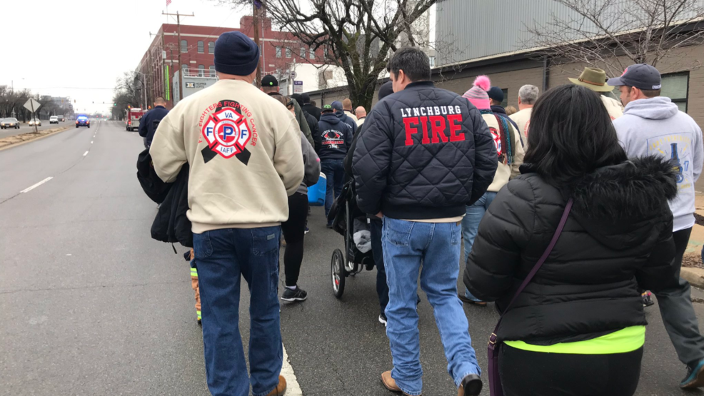 Firefighters Marching At Capitol >> Firefighter Cancer Bill Passed By Virginia Senators Wset