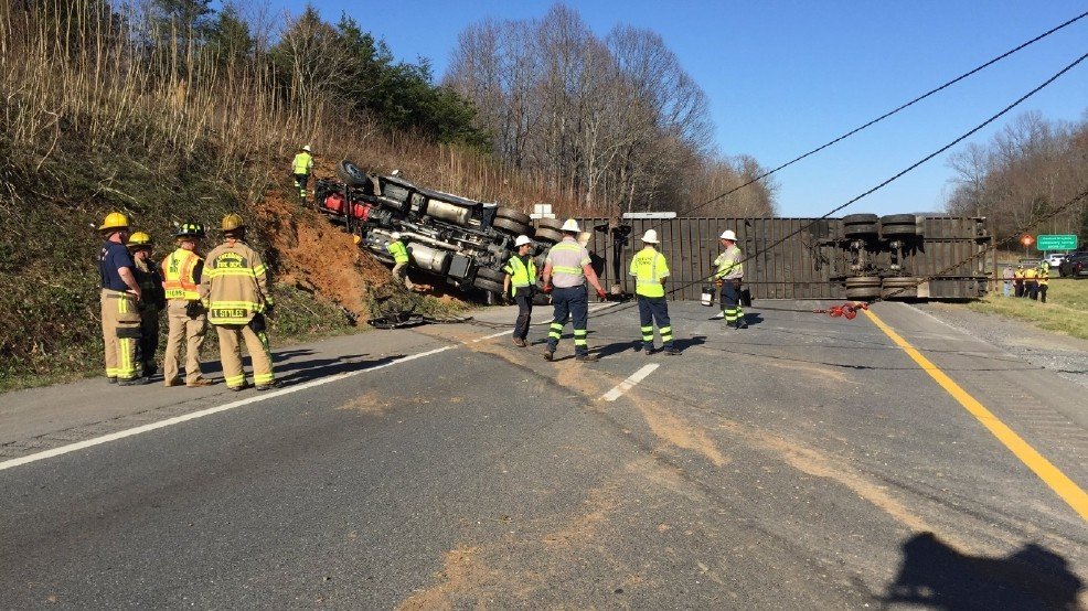 460 westbound reopens after tractor trailer crash | WSET