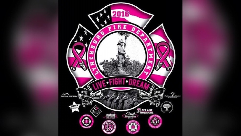 31a9a1c2e0df Lynchburg Fire Department selling t-shirts, sweatshirts to raise cancer  awareness