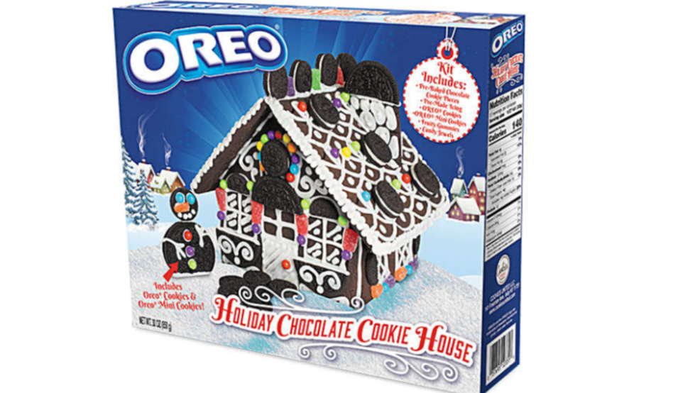 Christmas Cookie Decorating Kit.Oreo Releases Its Own Version Of The Gingerbread House Wset