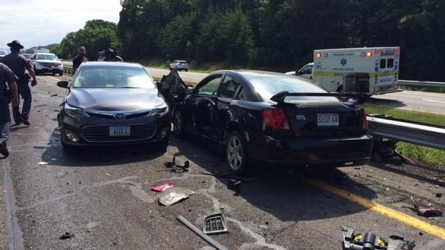 UPDATE: Crash scene cleared, all lanes opened on I-81 after crash | WSET