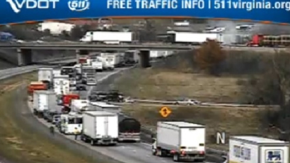 UPDATE: Tractor Trailer Accident Shuts Down I-81 North and South