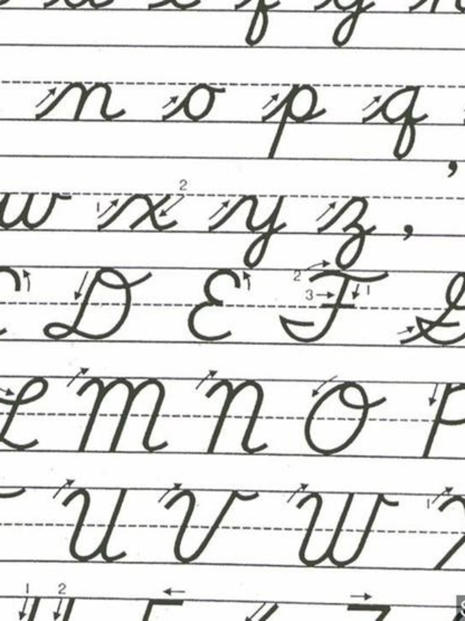 Cursive Making A Comeback This Fall In Ohio Classrooms Wset